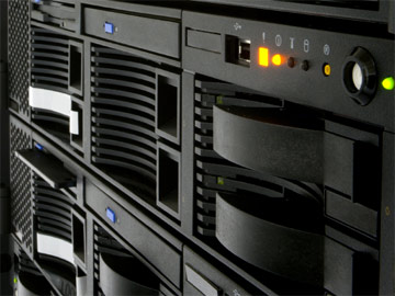Web hosting servers.
